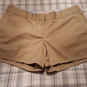 J crew chinos shorts